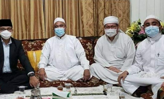 Anies dan Tengku Zulkarnain Temui Habib Rizieq di Petamburan, Bahas Apa?