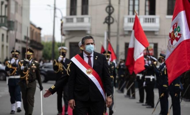 Presiden Sementara Peru Resmi Mengundurkan Diri