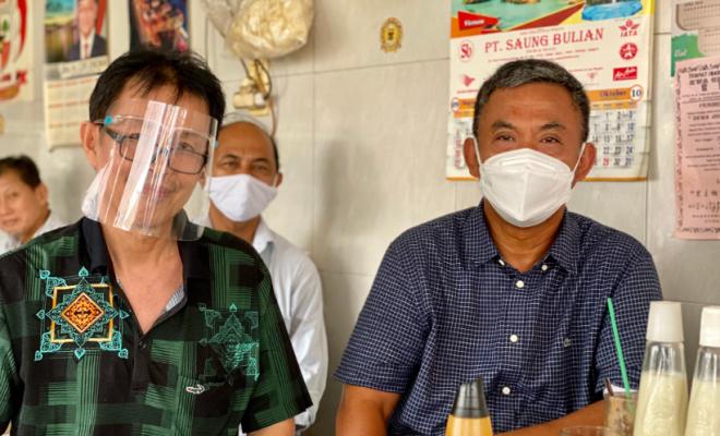 Cerita Ketua DPRD DKI Bersantap Pagi di Warung Kopi Ahok