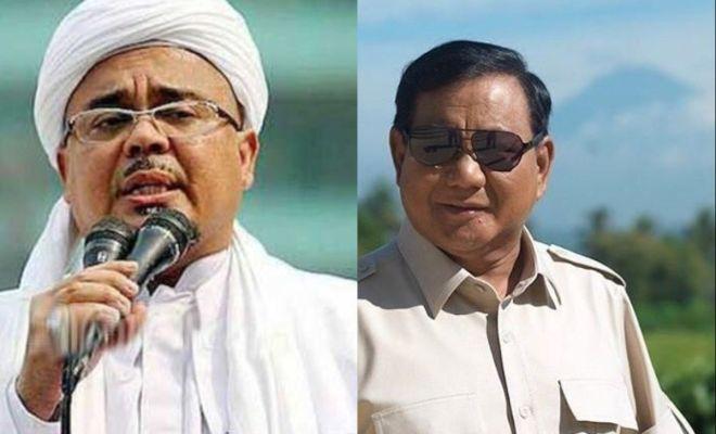 Gerindra Beberkan Alasan Prabowo Tak Jemput Habib Rizieq di Bandara