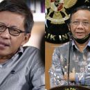 Rocky Gerung Prediksi Mahfud MD Menteri Pertama yang akan Direshuffle Jokowi Gara-gara ini