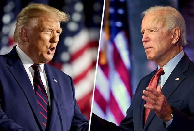 Trump Bilang 'Kami akan Menang!', Biden: Memalukan