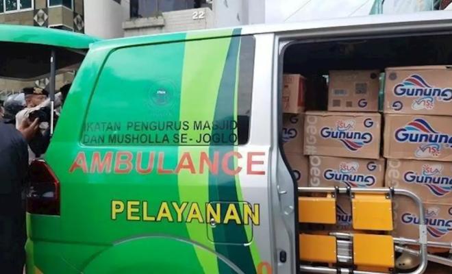 Polisi Tangkap Sopir Ambulans Pembawa Logistik Massa Aksi 1812