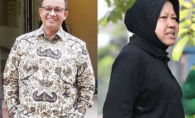 Aksi Risma Ancaman Bagi Citra Anies Baswedan dan Tokoh Nasional Lain