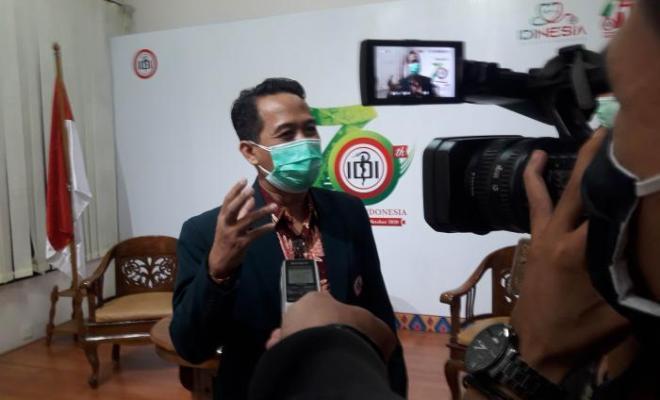 Asal Jokowi Siap Disuntik Pertama Vaksin Corona, Ketum IDI: Kami Juga Siap!