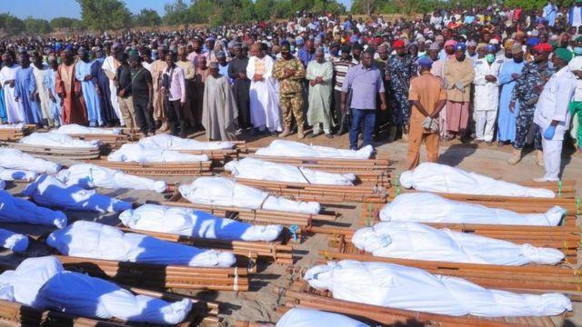 Kelompok Teroris Boko Haram Diduga Bantai Puluhan Petani di Nigeria