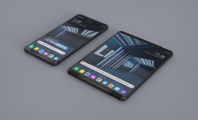 LG Akan Rilis Ponsel Layar Gulung dan Seri LG Rainbow