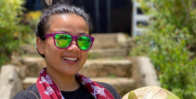 Nirina Zubir Sekali Waktu Bisa Gowes Sampai 100 Km