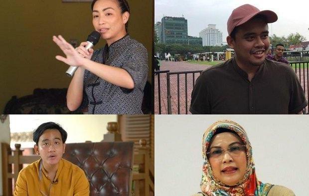 Beda Aura Antara Anak dan Mantu Jokowi, Ponakan Prabowo serta Putri Maruf Amin