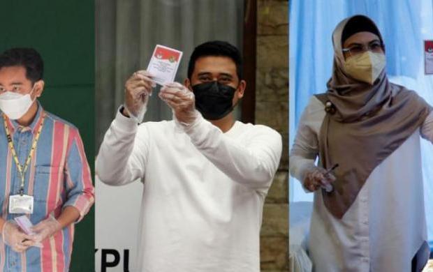 Begini Nasib para Anak Pejabat di Pilkada 2020, Mulai Anak Ma'ruf Amin Sampai Anak dan Mantu Jokowi