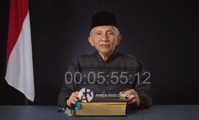 Soal Pembubaran FPI, Amien Rais Samakan Jokowi dengan Firaun?
