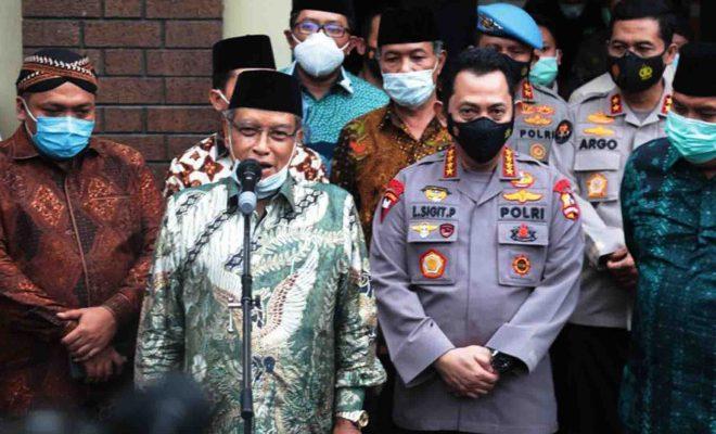 Aqil Siradj Curhat ke Kapolri Baru Soal Pengkhotbah Jumat yang Hina Jokowi