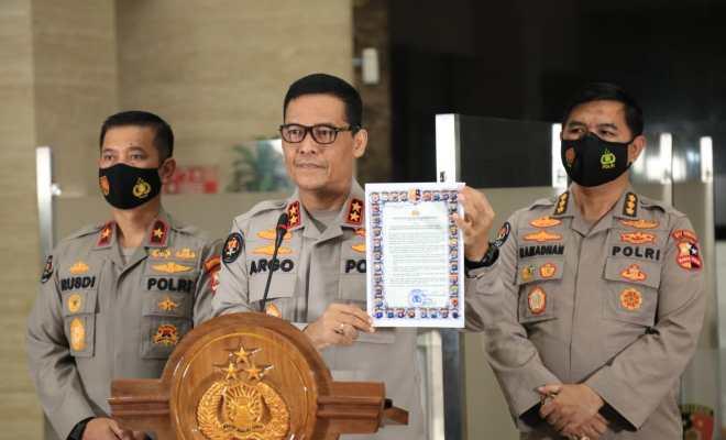 Tak Cukup SKB 6 Menteri, Kapolri Ikut Terbitkan Maklumat 'Haramkan' Kegiatan dan Atribut FPI