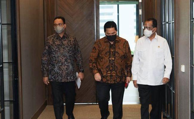 Anies Baswedan Rapat Bareng Dua Menteri Jokowi, Apa yang Dibahas?