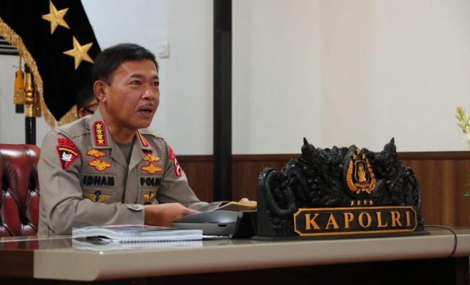 Jenderal Idham Azis Kirim Surat Permohonan Pengganti Kapolri ke Jokowi
