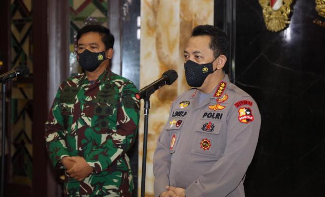 Silaturahmi Kapolri ke Panglima TNI, Tekankan Sinergitas dan Soliditas