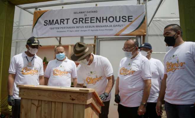 Mengenal Smart Green House di Garut yang Diresmikan Ridwan Kamil