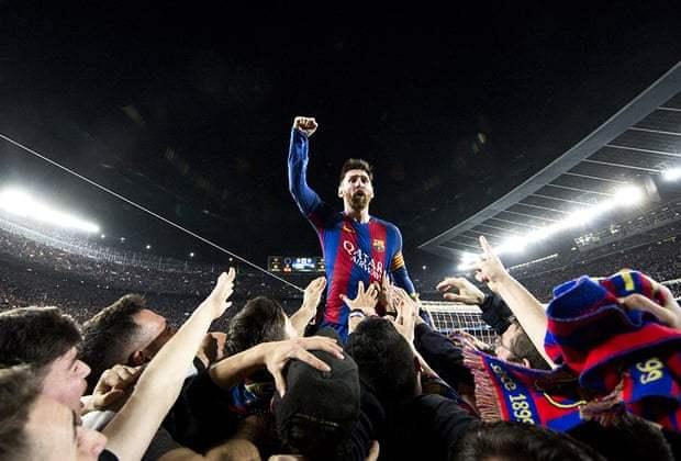 PSG Serius Angkut Messi dari Barcelona