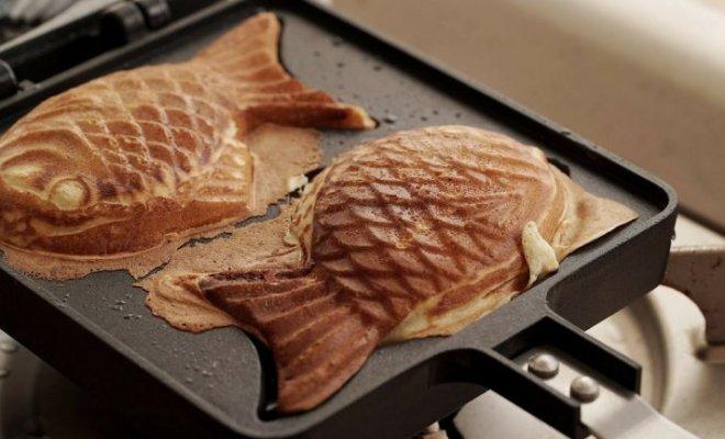 Resep Bungeoppang, Waffle Bentuk Ikan Isi Kacang Merah
