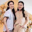 Sandra Dewi Rilis Desain Pakaian, Kolaborasi dengan Desainer Cynthia Tan