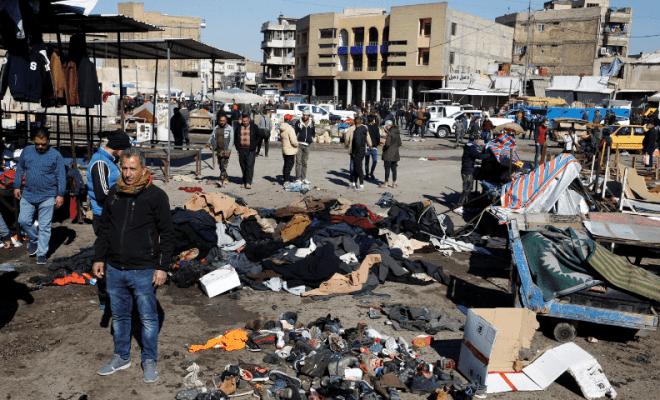 20 Orang Tewas Akibat Dua Bom Bunuh Diri di Baghdad