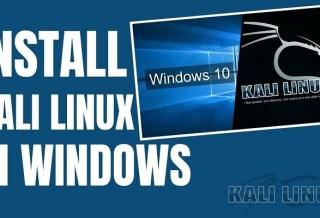 Cara Install Kali Linux di Windows 10 dengan Cepat dan Mudah