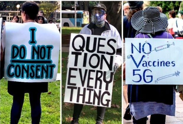 Ribuan Orang Tolak Vaksinasi Covid-19 di Australia