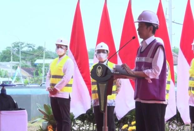 Sempat Digarap SBY, Jokowi Tuntaskan Proyek Impian Soeharto