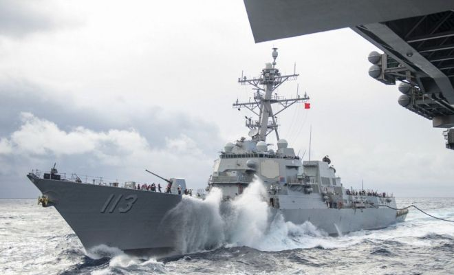 Kapal Perang AS Berlayar di Selat Taiwan, Ketegangan dengan China Makin Memuncak