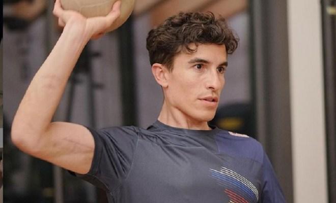 Patah Lengannya Sembuh, Marc Marquez Senang Bisa Kembali Latihan