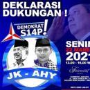 Viral Poster JK-AHY Capres-Cawapres 2024, Begini Sanggahan Demokrat