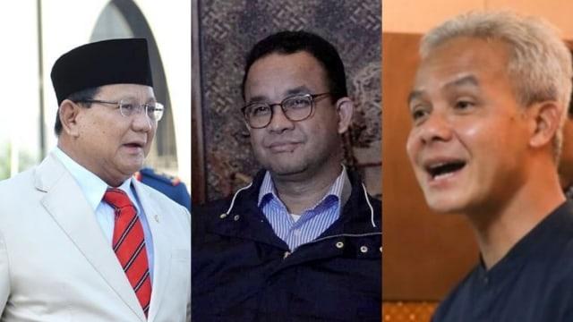 Prabowo-Ganjar-Anies Masih Pimpin Hasil Survei Charta Politika di Tengah Munculnya Sejumlah Nama Baru
