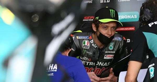 Adu Sindiran Dua Juara MotoGP, Valentino Rossi dan Marco Lucchinelli