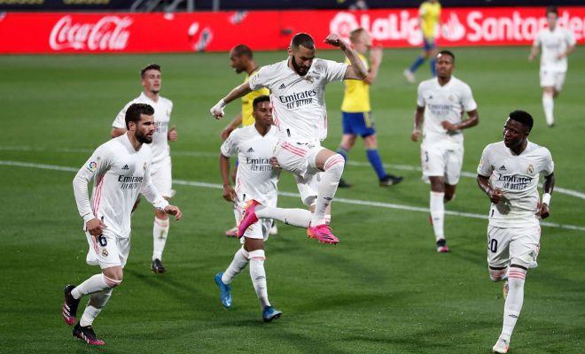 Hanya Bawa Empat Gelandang, Real Madrid Menang Lawan Cadiz