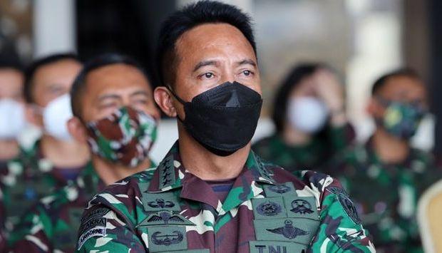 Kepala Staf Angkatan Darat (KSAD), Jenderal TNI Andika Perkasa