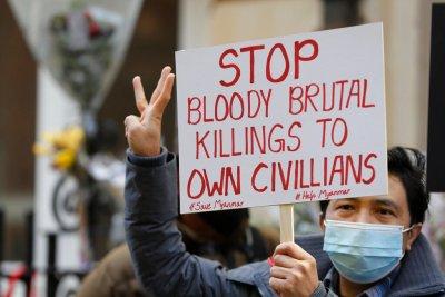 AAPP: Militer Myanmar Bunuh 80 Demonstran dalam Sehari