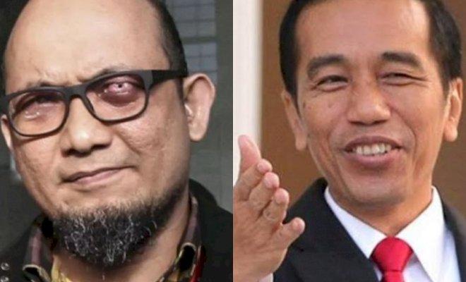 Jokowi Tolak Pemberhentian 75 Pegawai KPK, Begini Respons Novel Baswedan