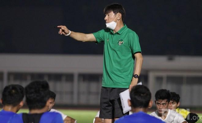 Shin Tae-yong Minta Timnas Indonesia Lebih Kerja Keras