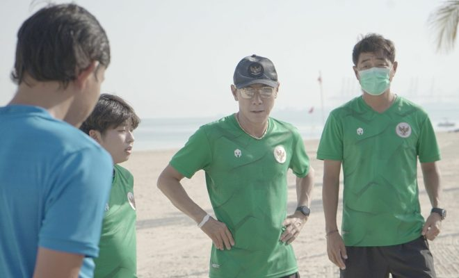 Timnas Kalah di Dua Uji Tanding, Shin Tae Yong Khawatir Soal Bek Tengah