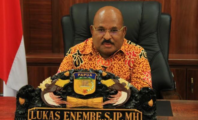Tujuh Sikap Gubernur Lukas Enembe Terkait Label Teroris KKB Papua
