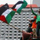 Polisi Terjunkan Ribuan Personel Kawal Serikat Buruh Turun Aksi Solidaritas Palestina