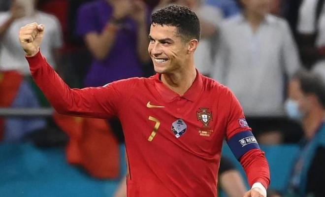 Cristiano Ronaldo Cetak Rekor Baru di Euro 2021