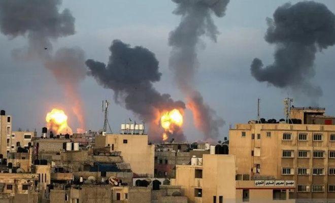 Langgar Gencatan Senjata tapi Berdalih Respons Serangan Balon Api, Israel Kembali Gempur Gaza
