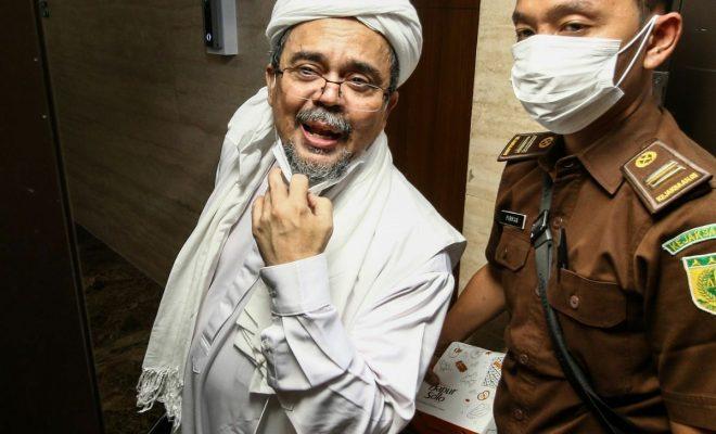 Habib Rizieq Mengaku Belum Pantas Disebut 'Imam Besar'
