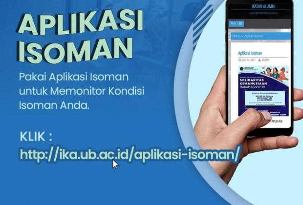 Universitas Brawijaya Luncurkan Aplikasi ISOMAN