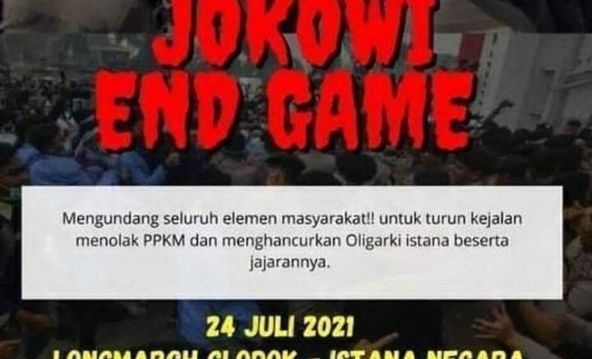 Dituding Dalangi 'Jokowi End Game', Aktivis ini Kena Teror Doxing dan Diancam Dibunuh