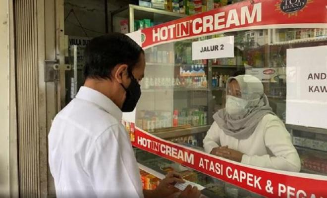 Stok Kosong, Jokowi Gagal Dapatkan Obat Terapi Covid-19 Saat Blusukan ke Apotek Bogor