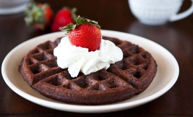 Resep Waffle Cokelat untuk Sarapan