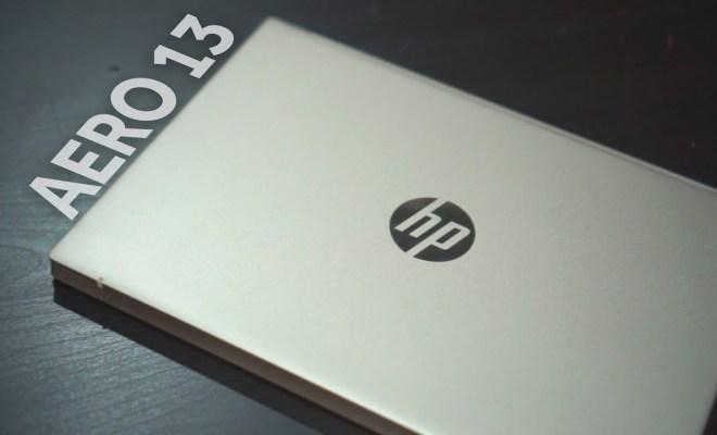 Laptop HP Pavilion Aero 13, Berat Tak Sampai 1 Kilogram