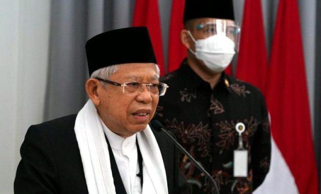 Ma'ruf Amin: 605 Kiai dan Ulama di Indonesia Meninggal Selama Pandemi